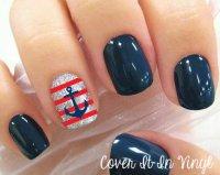 11 Anchor Toe Nail Designs Images - Cute Anchor Toe Nail ...