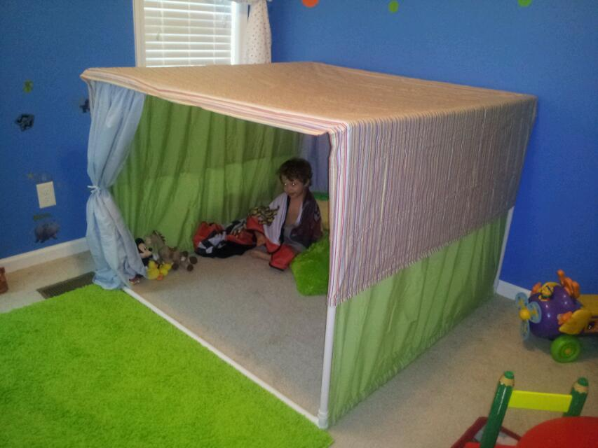PVC Pipe Playhouse Plans Bing Images