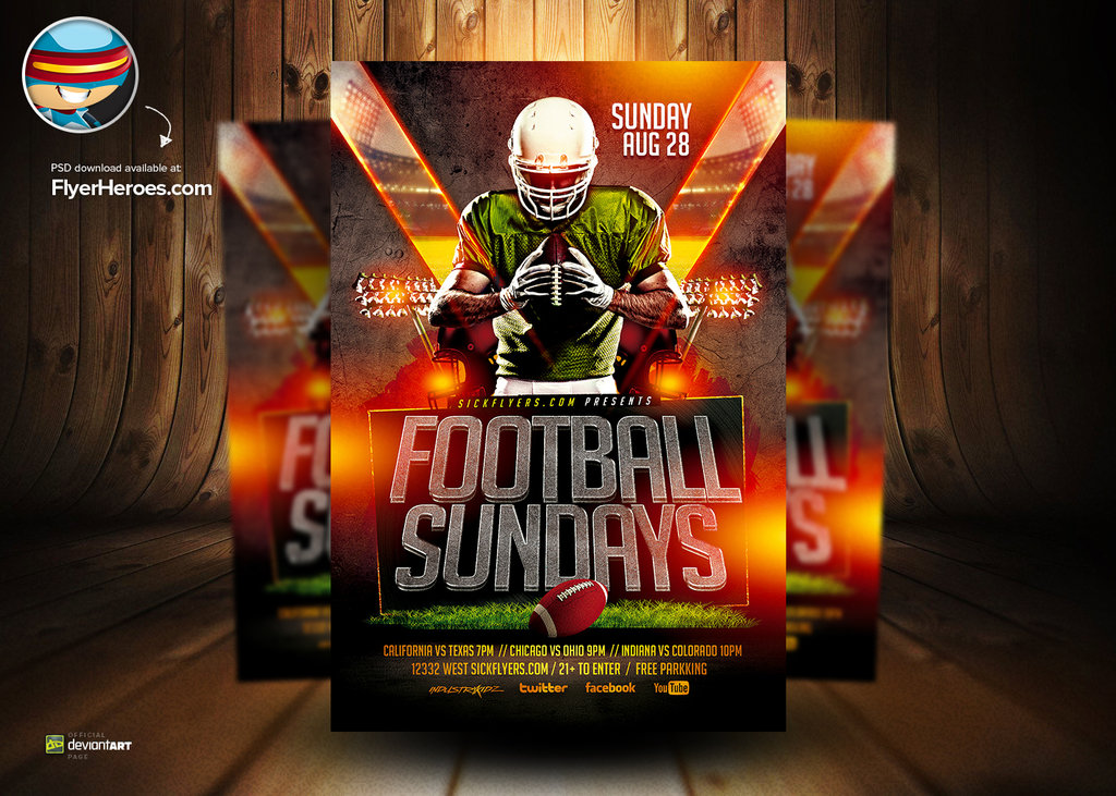 football flyer templates free - Tier.brianhenry.co