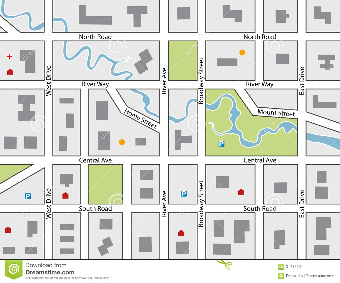 Free Vector Map File Page 1