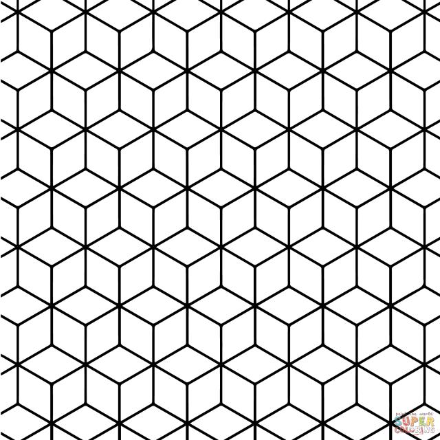 14 Colorful Geometric Shape Template Images - Geometric Pattern