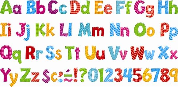 Bulletin Board Letters Printable N
