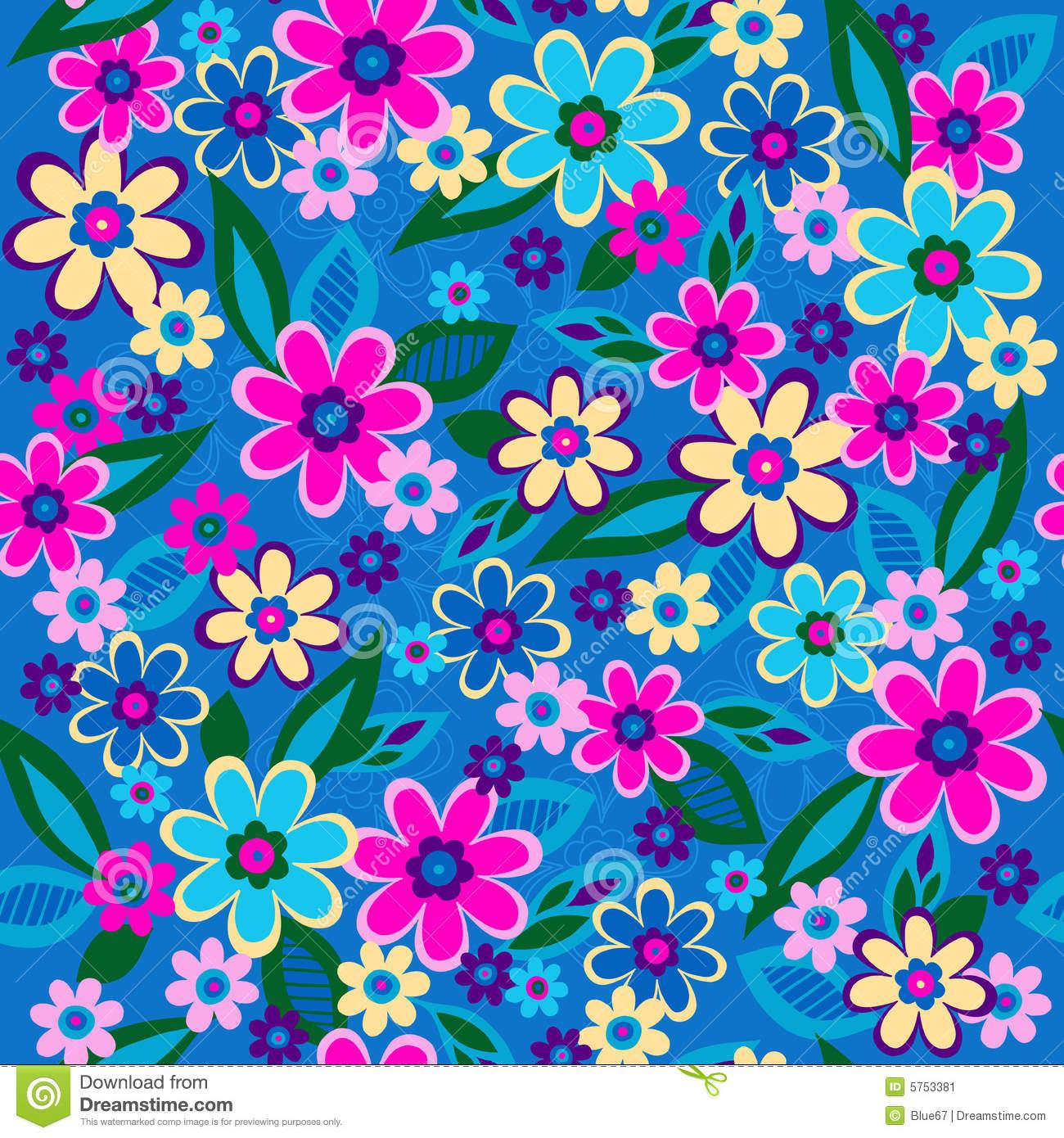 19 Repeating Pattern Vector Flower Images - Floral Pattern Vector. Repeat Flower Designs Patterns and Doodle Flower Pattern Clip Art ...