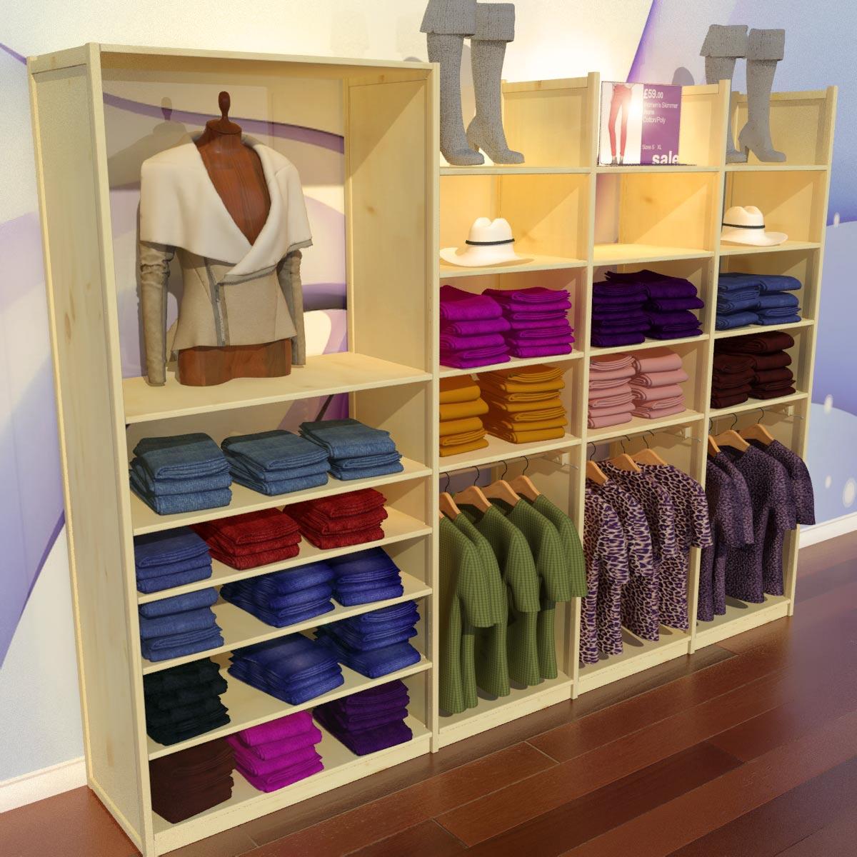 Design Shop Clothes Shop Design Ideas