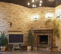 17 Corner Brick Walls Design Images