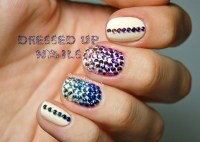 8 Nail Designs With Rhinestones Images - Nail Art Designs ...