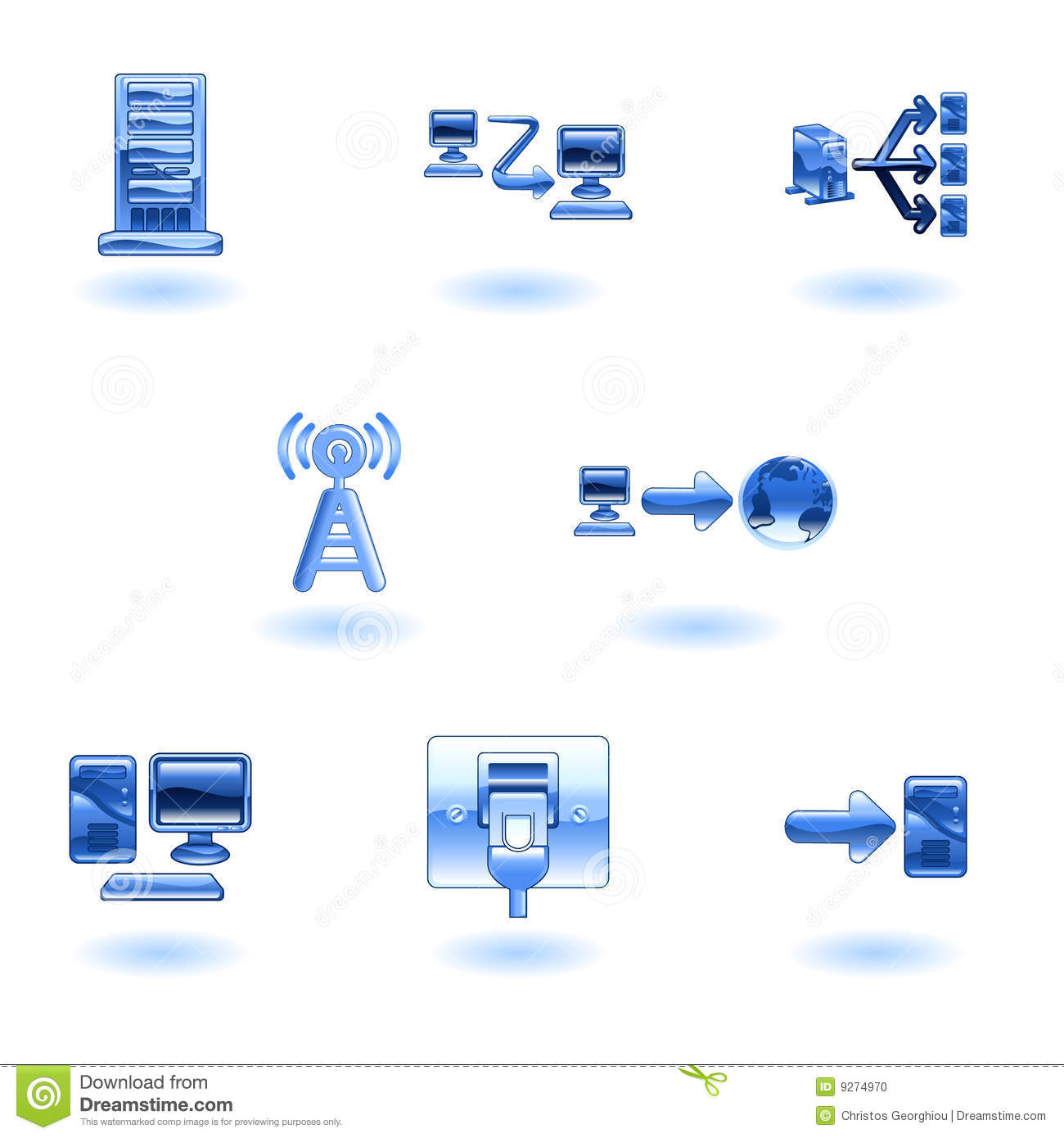 computer network diagram symbols three way switch with dimmer wiring 16 3d icon images port