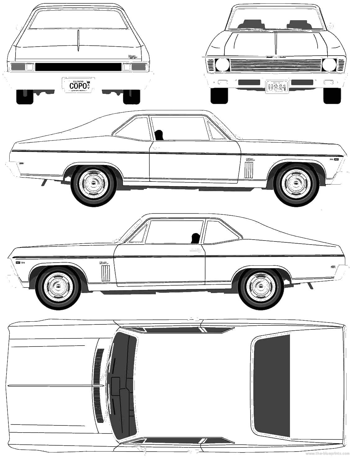 9 Nova Car Vector Images