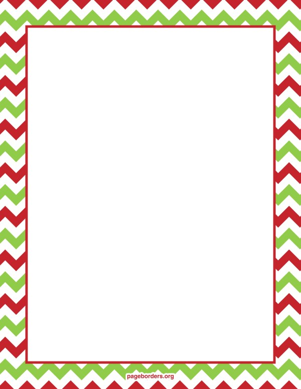microsoft christmas border templates