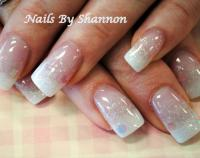 15 White Glitter Nail Designs Images