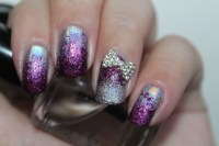 20 Purple And Silver Cute Nail Designs Images