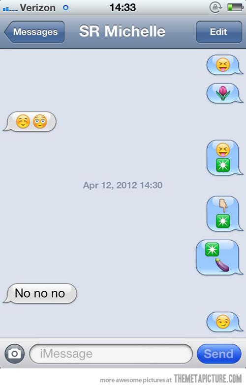 9 text message faces