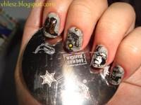 12 Western Nail Designs Images - Tribal Aztec Nail Design ...