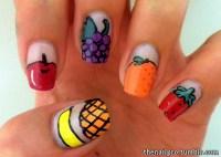 14 Nail Designs Food Images - Fast Food Nail Art, Food ...