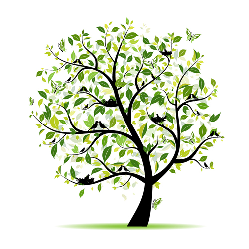 free vector tree file