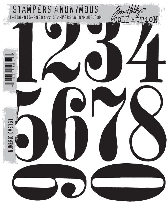 Vintage Numbers Font