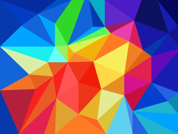 19 Geometric Shapes Background Vector Images Geometric