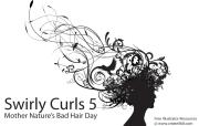 free vector swirls curls