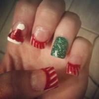 15 Christmas Acrylic Nail Designs 3013 Images - Christmas ...