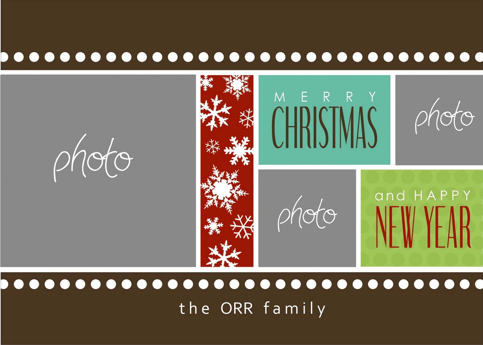 19 Christmas Card Photoshop Templates Free Images Free