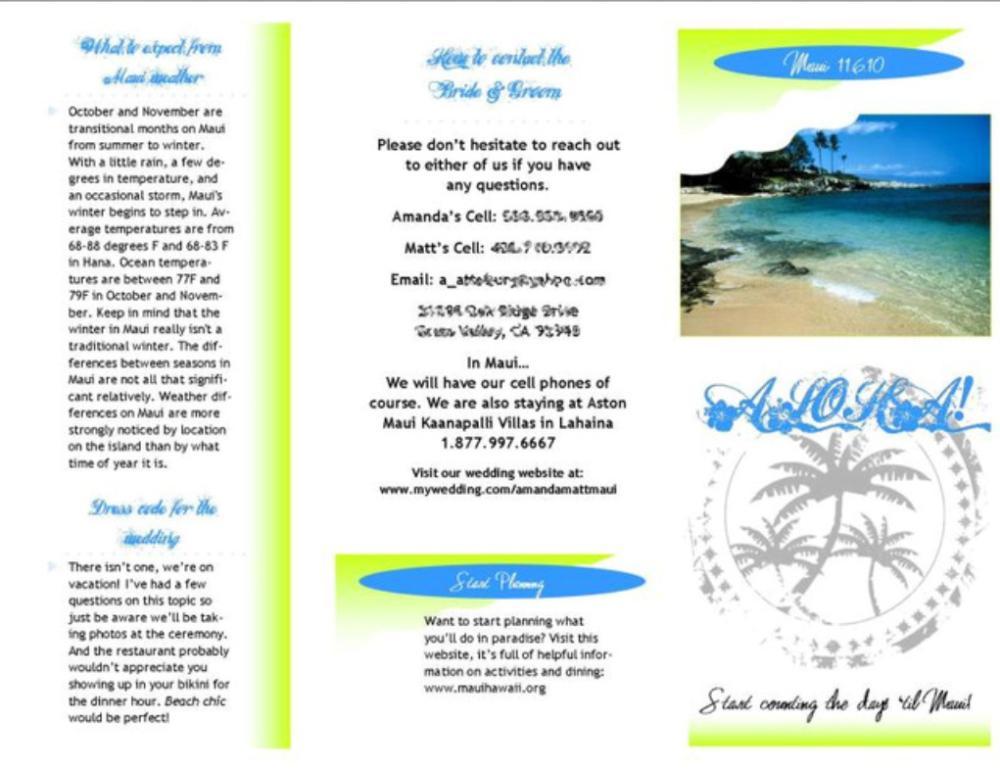 Word Travel Brochure Template The Idealstalist Brochure Design