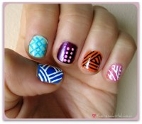 20 Tribal Easy Nail Designs Images - Easy Tribal Nail Art ...
