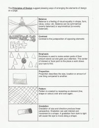 11 Principles Of Design Worksheet Images - Elements and ...