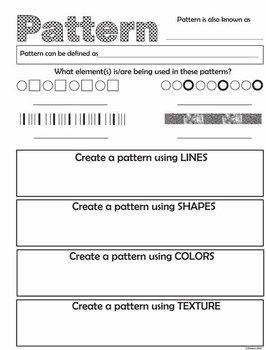 11 Principles Of Design Worksheet Images