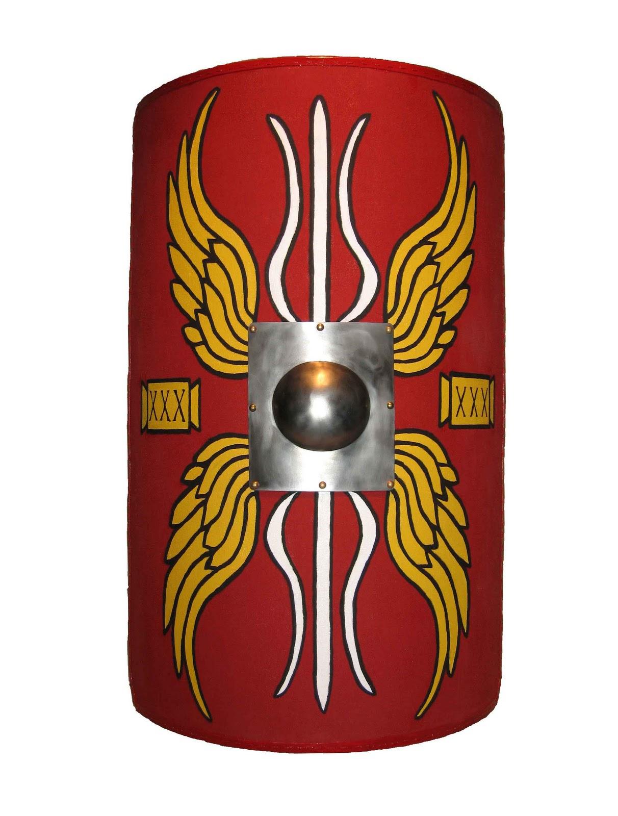 10 Roman Shield Designs Images