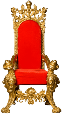 16 PNG Furniture PSD Images Images  King Throne Chairs
