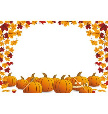 9 halloween vector frame