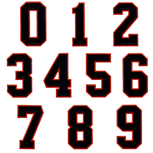 11 By The Numbers Font Images Printable Number Fonts