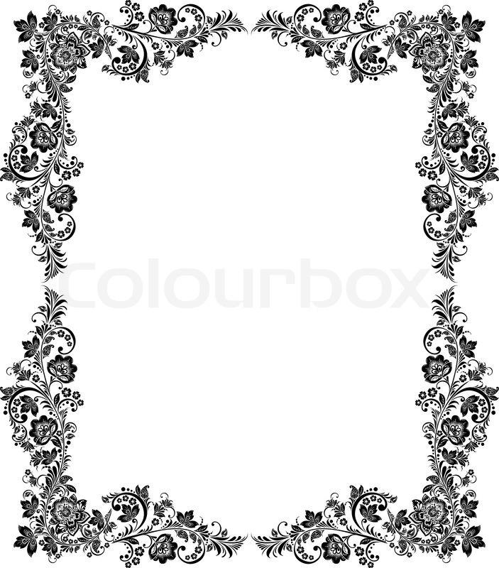 Black Vintage Picture Frames | secondtofirst.com