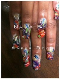 12 Long Ghetto Nail Designs Images - Ghetto Nail Designs ...