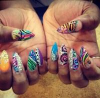 12 Long Ghetto Nail Designs Images - Ghetto Nail Designs ...