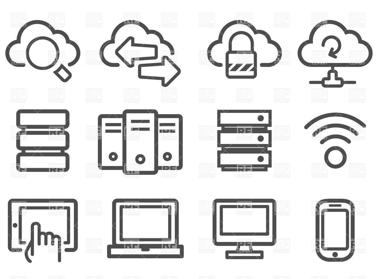 13 Network Icon Vector Images