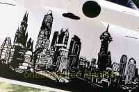 18 Gotham City Vector Images - Vector City Skyline Clip ...