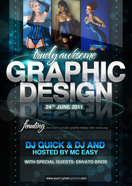 12 psd flyers graphics