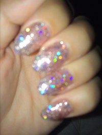 16 Oval Nail Designs Tumblr Images - Oval Acrylic Nails ...