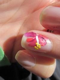 12 Hawaiian Flower Nail Designs Images - Hawaiian Flower ...