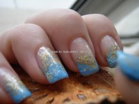 11 Light Blue Nail Designs Images - Light Blue and White ...