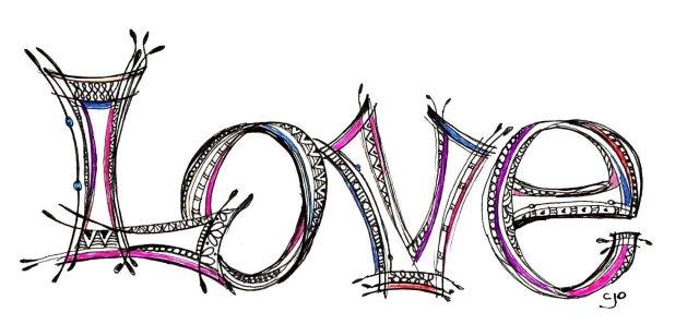 23 Love Written In Fancy Fonts Images - Fancy Calligraphy Word