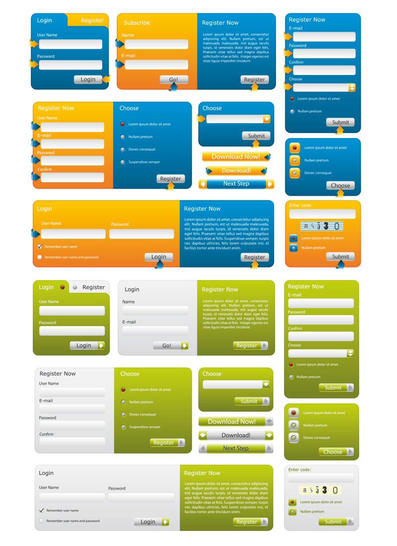 No matter what information you need, whether it's applications, order details, or feedback, we've got online forms of every type, for every industry. 16 Web Form Template Clip Art Images Web Registration Form Templates Web Form Templates And Clip Art Templates And Forms Newdesignfile Com