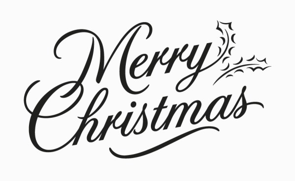 merry christmas font style