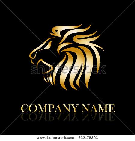 14 Golden Lions Vector Images Golden Lion Logo Lion