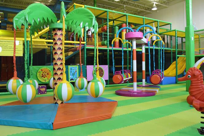 Hop Skip Jump  Complete Branding Project  New Design Group Inc