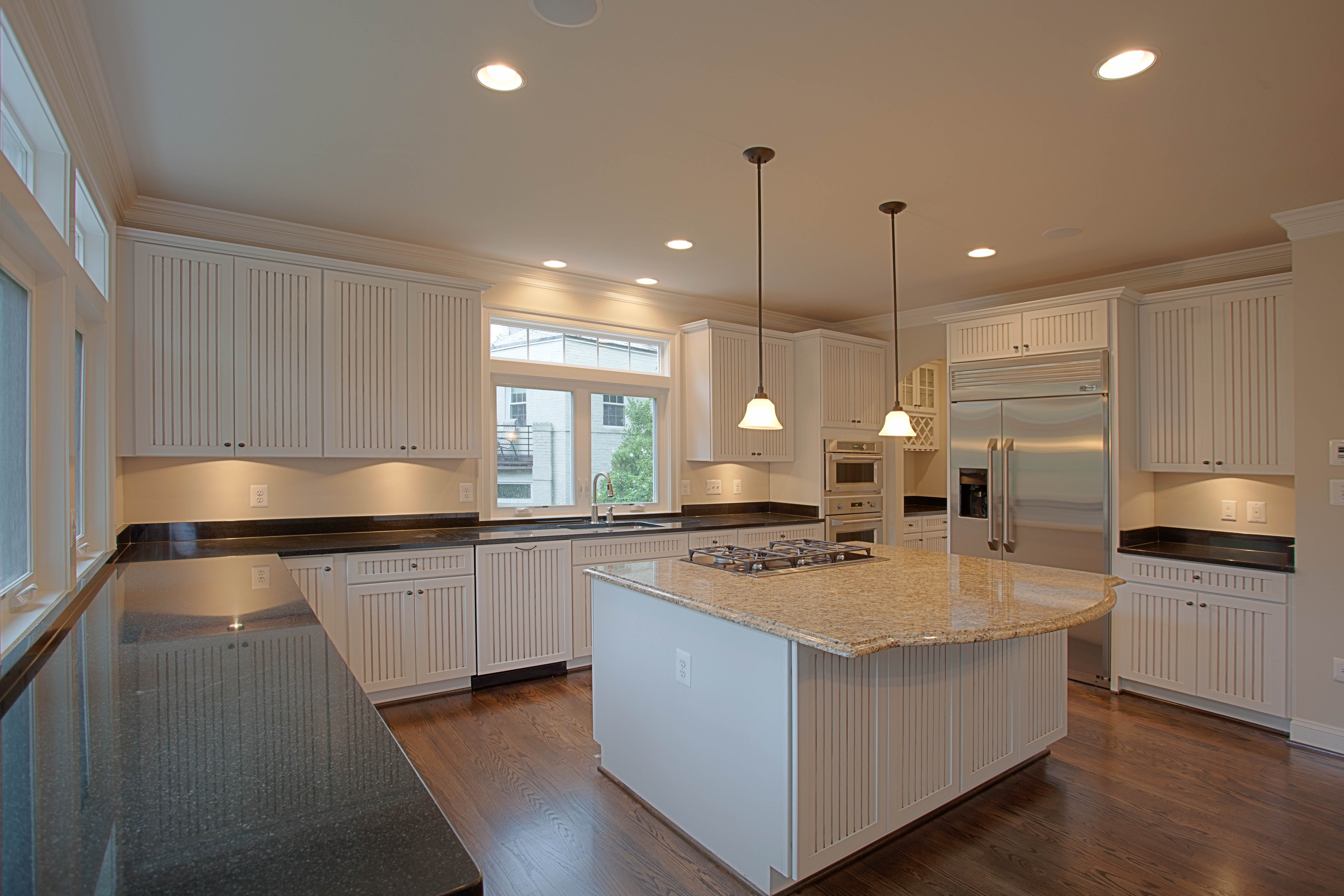 different color kitchen cabinets sink drain gasket have fun with your how to choose a island ndi i decided colored counter top on the in my home love having light hides fingerprints