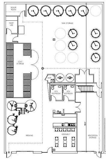 Blueprints for a brewery new district brewing company blueprints for a brewery malvernweather Choice Image