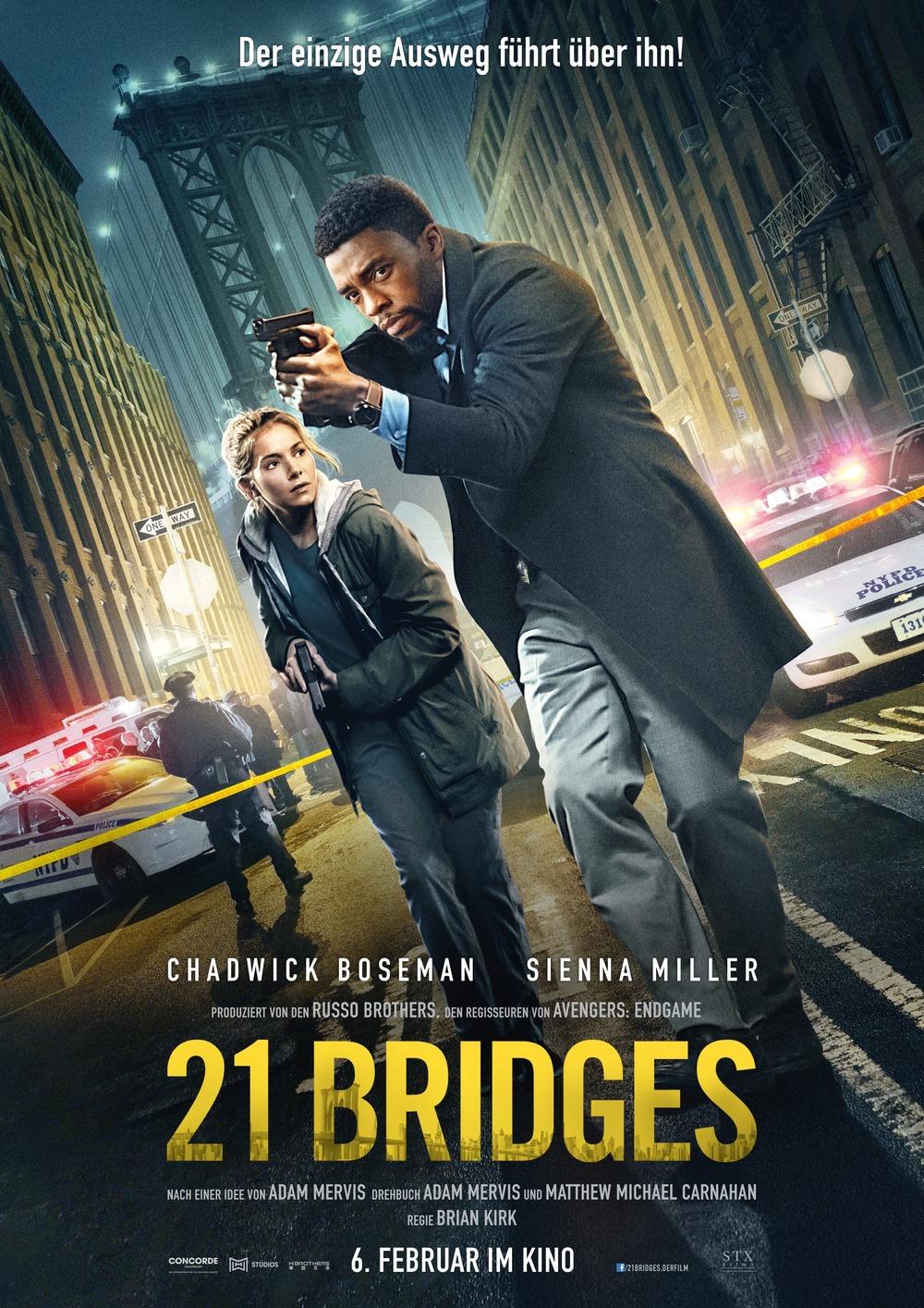 We did not find results for: 21 Bridges DVD Release Date | Redbox, Netflix, iTunes, Amazon