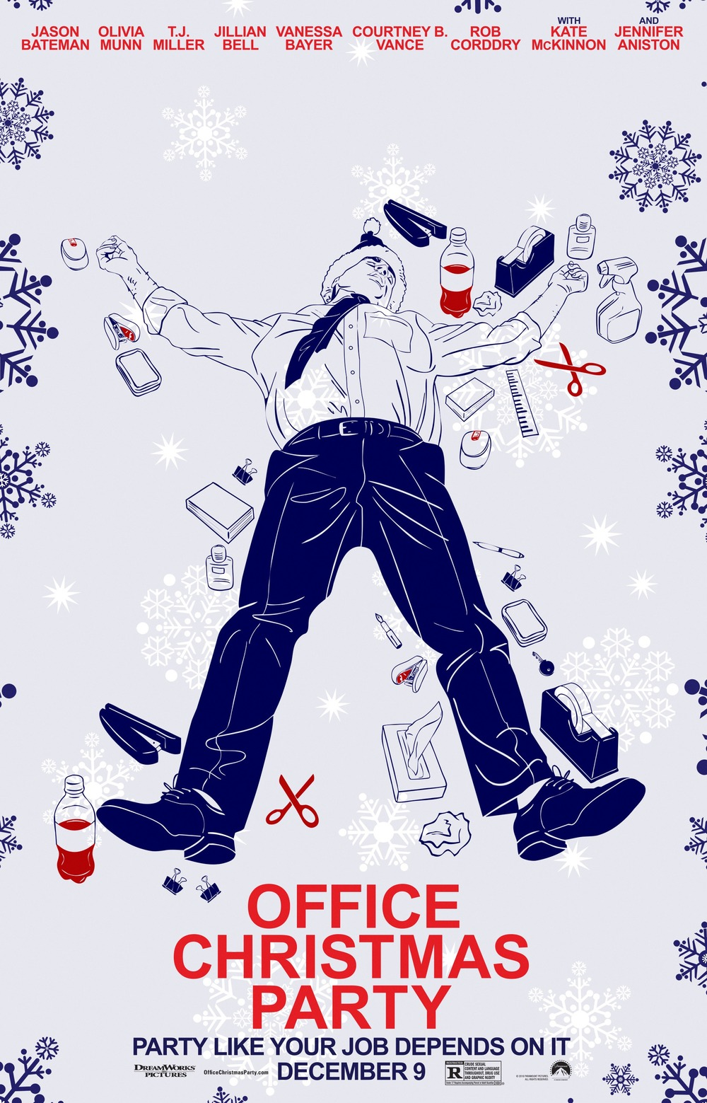 Office Christmas Party DVD Release Date  Redbox Netflix